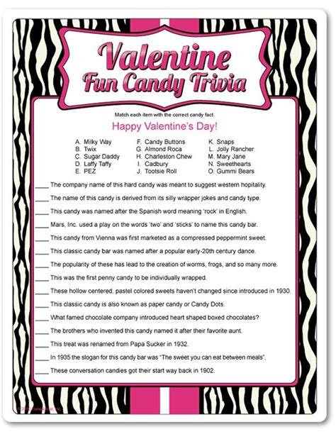 valentines trivia questions the world s catalog of ideas