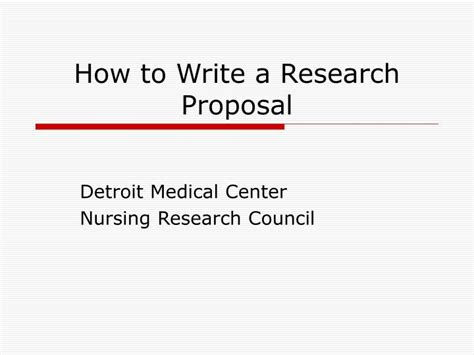 How To Make A Draft For A Research Paper - ppt how to write a research powerpoint