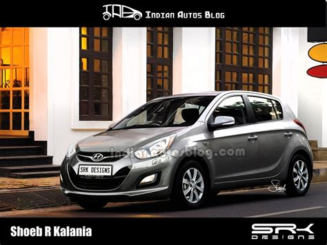new hyundai i20 2012 spied hyundai i20 facelift in chennai