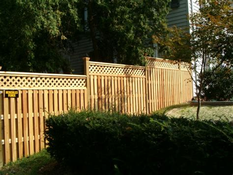 what are my privacy fence options hercules fence richmond