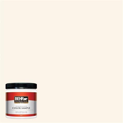 behr premium plus 8 oz w d 400 cotton fluff interior exterior paint sle w d 400pp the