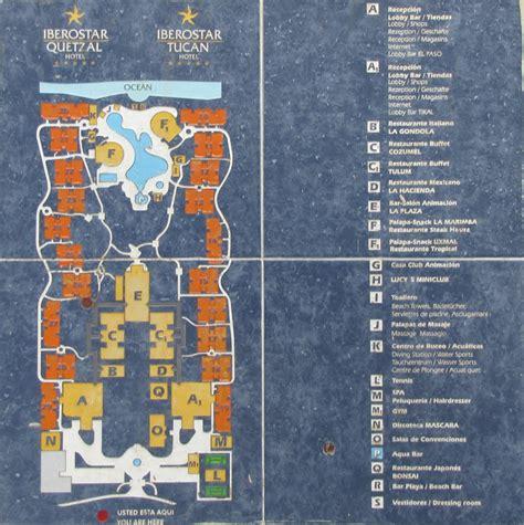 iberostar resort map panoramio photo of resort map of iberostar quetzal tucan