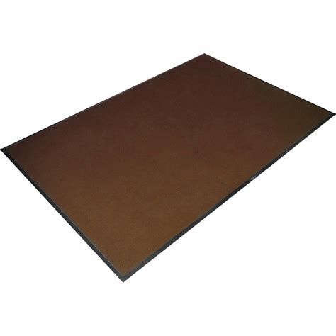 Large Mat mottled brown dirt trapper mat large 6 x4 from