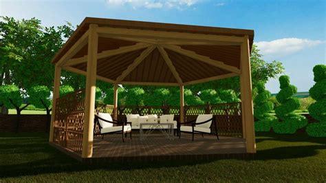 progetto gazebo come progettare gazebo pergolati pensiline e tettoie