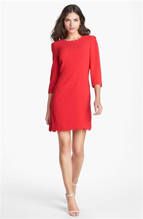 Dress Stretch Wedges Dress ted baker stretch shift dress in lyst