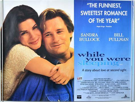 film while you were sleeping while you were sleeping original cinema movie poster