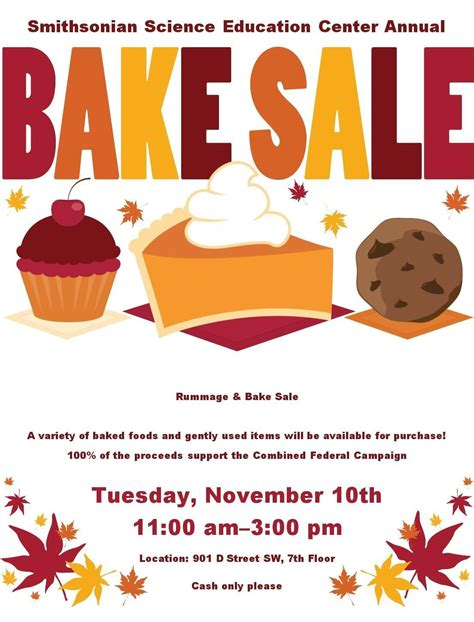 Halloween Bake Sale Flyer