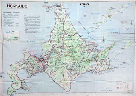 printable map hokkaido 100 maps of japan detailed map the map vault