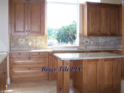 how to install ceramic tile backsplash in kitchen ceramic tile kitchen backsplash boyer tile