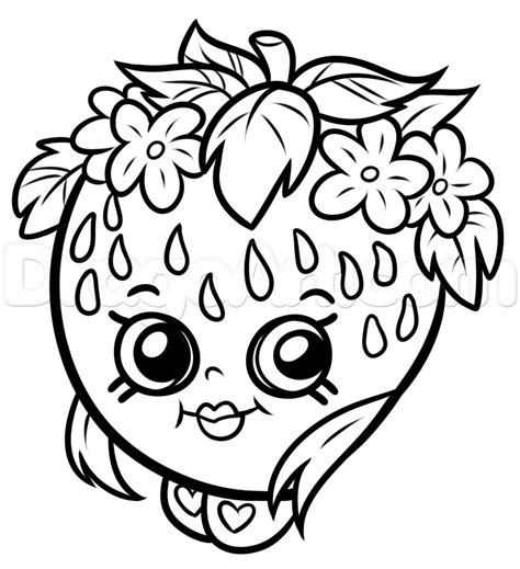 Free Coloring Pages Shopkins Www Mindsandvines Com Free Color Pages
