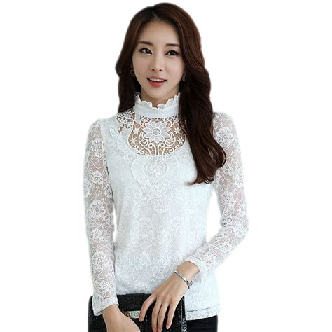 Topsblouse Bigsize Jumbo Culture lace shirt picture more detailed picture about big size