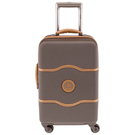 trolley cabina delsey trolley delsey ch 226 telet 4 roues taille cabine francuir