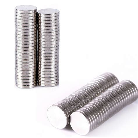 100 Pcs Magnet Neodymium 8 X15 Mm 100 pcs 6mm x 1mm cylinder earth mass neodymium magnet mini small disc magnetic materials