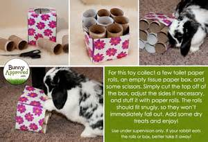 Dog Toilet Paper Holder diy rabbit toy ideas bunny approved house rabbit toys