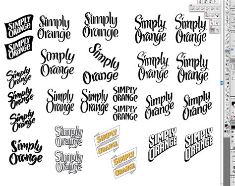 different lettering styles new modern different lettering styles