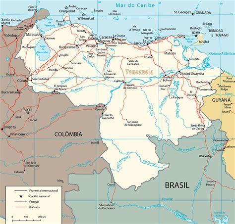 imagenes satelital de venezuela caracas mapa my blog