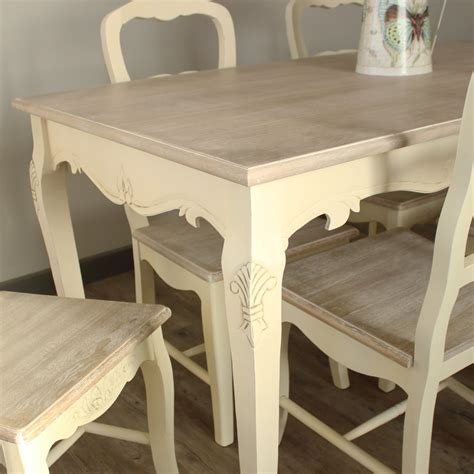 cream large dining table   chairs country ash range