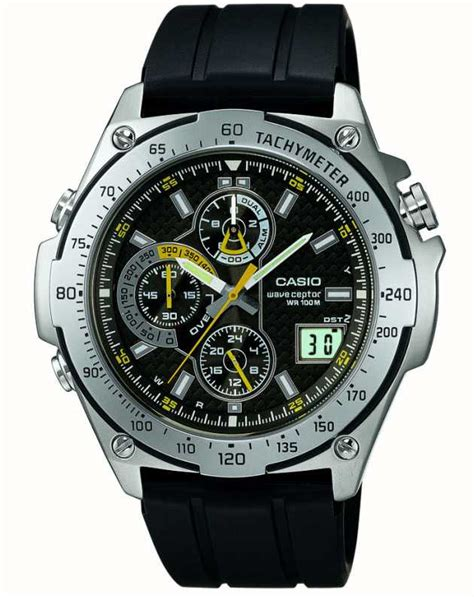 casio edifice wave ceptor wvq  aver  class watches