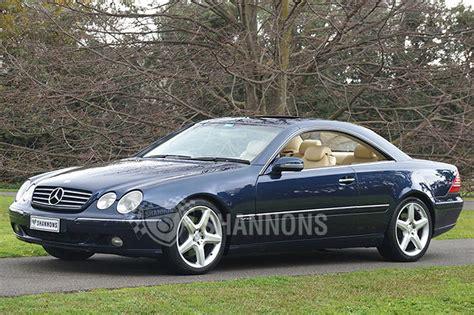 mercedes cl600 coupe sold mercedes cl600 coupe auctions lot 22 shannons