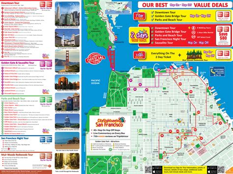 san francisco map attractions pdf maps update 21051488 san francisco tourist attractions