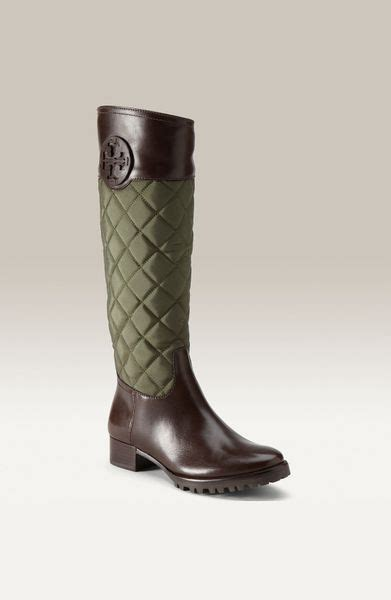 Burch Rowan Quilted Boots by Burch Rowan Quilted Boots In Green Green