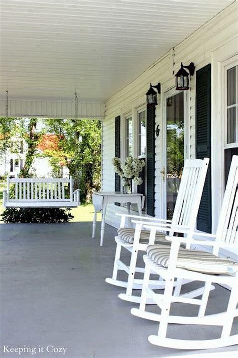front porch swings ideas huśtawka na taras werandę zobacz niezwykłe inspiracje