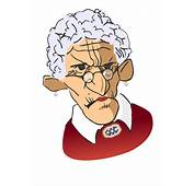 Cartoon Old Woman Clip Art Image 30730