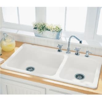 Kitchen Sinks Americast Silhouette 38 Quot Dual Level Sink American Standard Americast Kitchen Sink