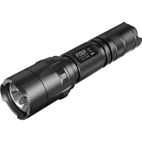 Nitecore P20uv Senter Led Uv Light Cree Xm L2 T6 800 Lumens Black nitecore p20uv led tactical flashlight p20uv b h photo