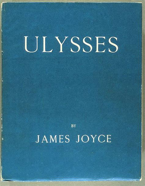 blue field books annotations to joyce s ulysses dust jacket