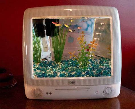 Small Home Aquarium Recycling Plastic Imacs Shells Into Aquarium Tanks Green