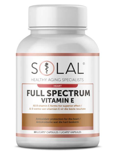 Suplemen Vitamin E spectrum vitamin e solal vitamins supplements