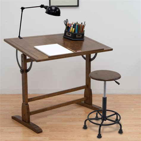 studio drafting table studio designs 42 quot vintage drafting table color rustic