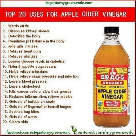 Detox With Baking Soda And Apple Cider Vinegar by 977 Best Images About Braggs Vinegar On