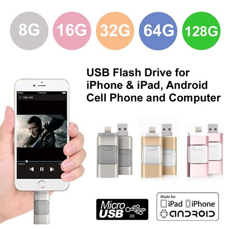 flash for android usb flash drive for iphone ipod android cell phone computer