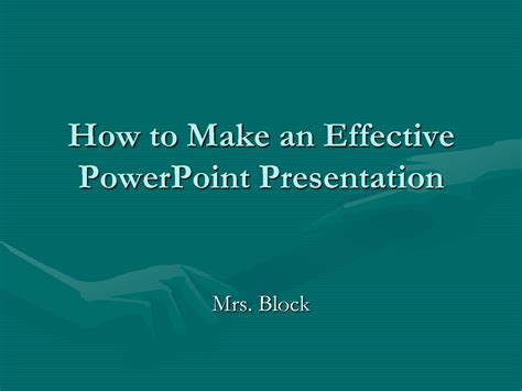How To Make Effective Powerpoint Presentation Keepsafe How To Make On Powerpoint