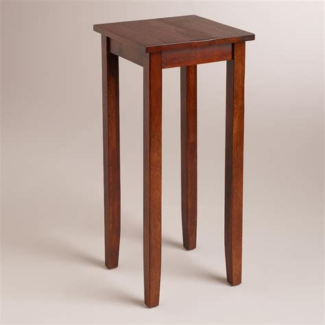 accent end table tall accent table a stylish item for utilizing the empty