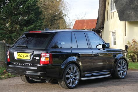 land rover 2007 black range rover sport hse 2007 java black c63 pinterest