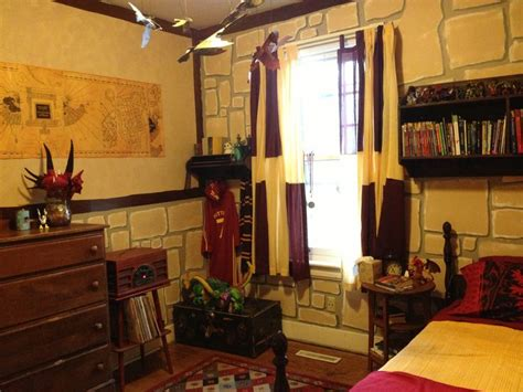 harry potter gryffindor bedroom hp harry