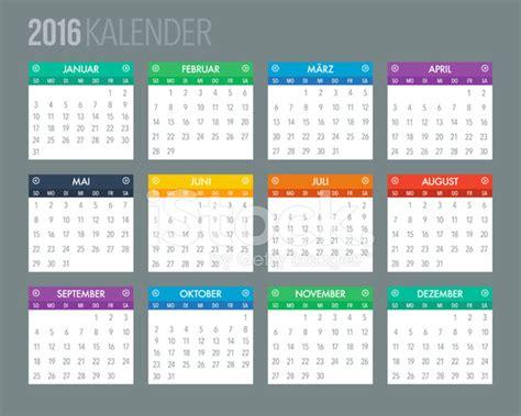German Kalender 2016 Deutsche Kalendervorlage 2016 Stockfotos Freeimages