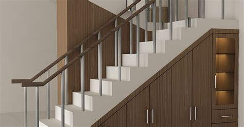 Lemari Meja Kerja Bawah Tangga lemari bawah tangga dian interior design