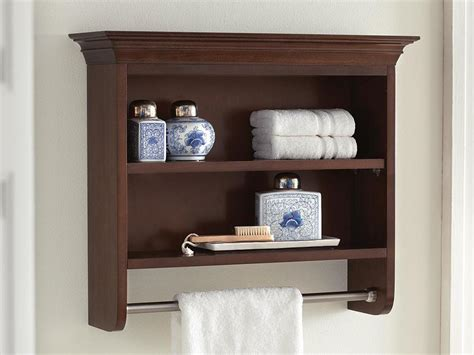 Wall Bathroom Shelves Bathroom Furniture The Home Depot Canada