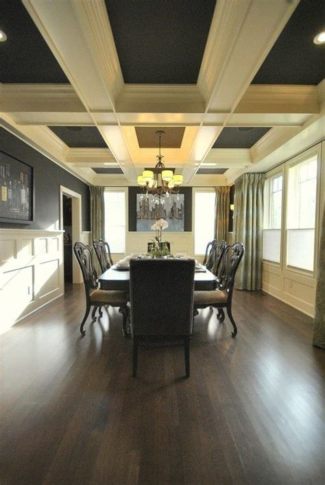 wooden beam ceiling for contemporary dining room ideas dining room paint ceiling between beams design and