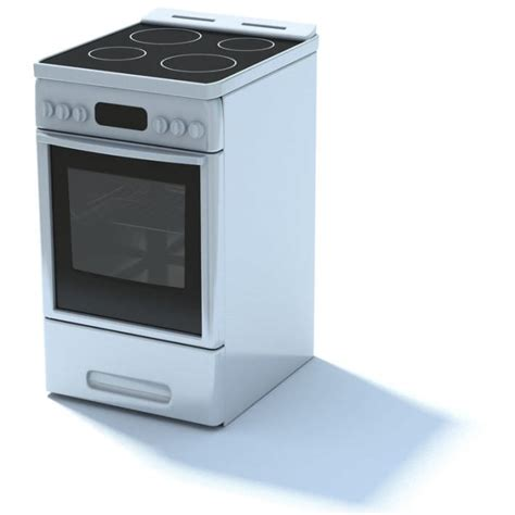 stoves kitchen appliances kitchen appliance electric stove 3d model cgtrader
