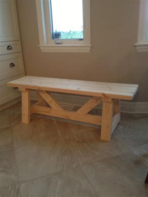 diy farmhouse benches hgtv farmhouse bench in 1 day project do it yourself home projects from white
