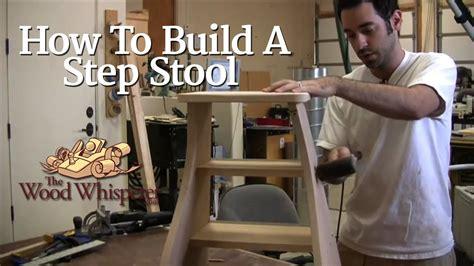 build  step stool   festool domino