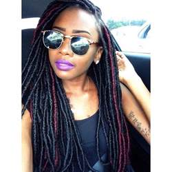 faux dreads with marley hair faux locs things i like pinterest locs and faux locs
