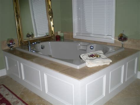master bathroom bathtubs master bathroom tub panel moulding with travertine tile