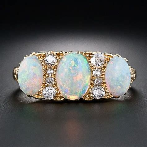 october birthstone opal diamonds custom diamonds and opals on