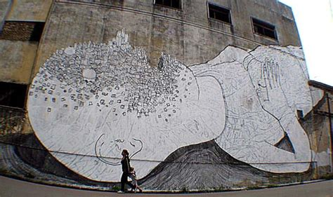 blu biography artist image gallery italian street artist blu